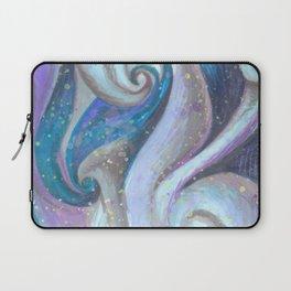 Swirl (blue and purple) Laptop Sleeve