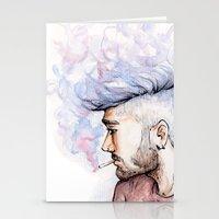 zayn Stationery Cards featuring Smokey Zayn by Aki-anyway