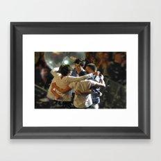 One Direction Madison Square Garden MSG 2 Framed Art Print
