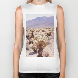 Chollo Cactus Garden - Joshua Tree Biker Tank