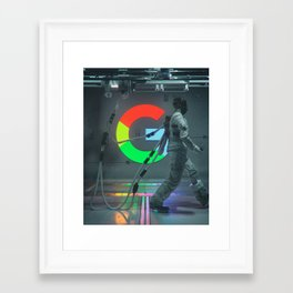 GOOGLE 2031 (everyday 04.26.18) Framed Art Print