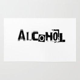 Alcohol Rug