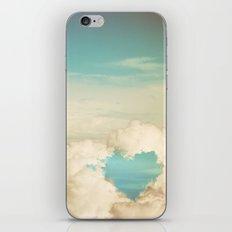 cloud heart iPhone & iPod Skin