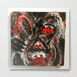 Mind the rabbit Metal Print