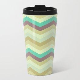 Chevron pattern Travel Mug