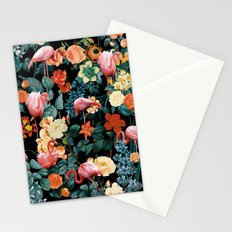 Floral and Flemingo II Pattern Stationery Cards