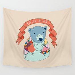 Soul Bear Wall Tapestry