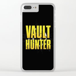 Borderlands Vault Hunter Clear iPhone Case