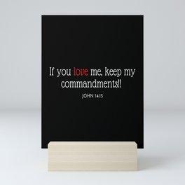 If you LOVE me Mini Art Print