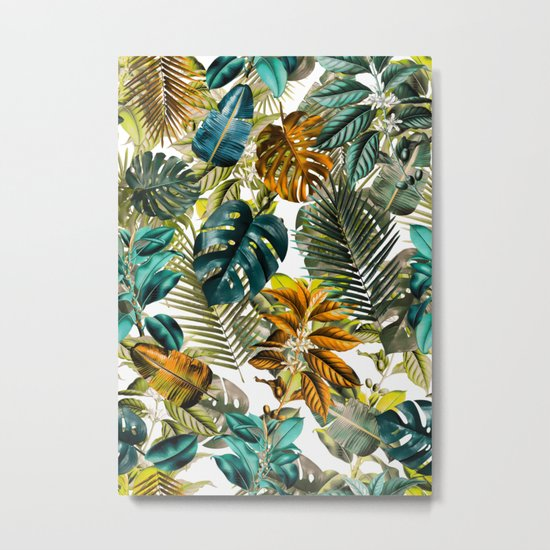 Tropical Garden IV Metal Print