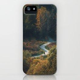 Green Path iPhone Case