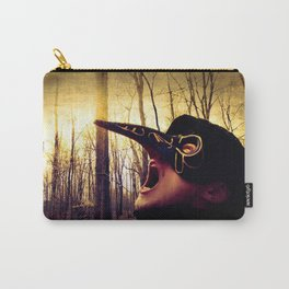 The Silent Scream Carry-All Pouch