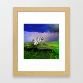 I Believe In Gruff Framed Art Print