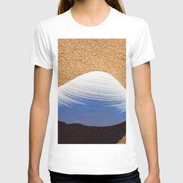 Clam Shell on the Beach T-shirt