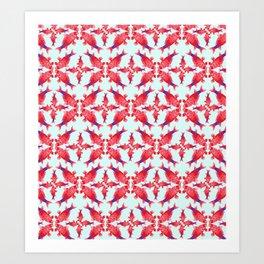 Carpe Diem Fish Star Art Print