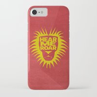 lannister iPhone & iPod Cases featuring House Lannister - Hear Me Roar by Jack Howse