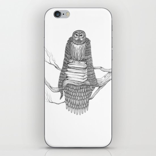 The Owl- Feathered iPhone & iPod Skin
