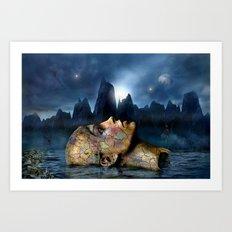 The Underworld Art Print