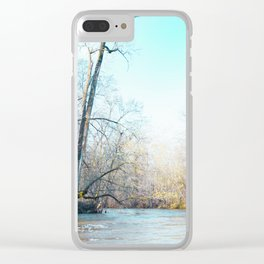 Begin Again Clear iPhone Case
