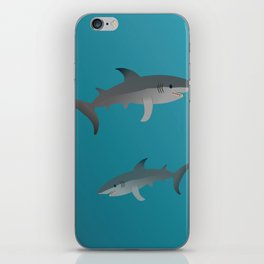 Sharks iPhone Skin