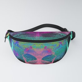 Ghostly Exhalations (ultraviolet) Fanny Pack