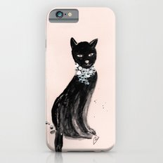 Spoiled Kitty Lifestyle Illustration iPhone 6s Slim Case