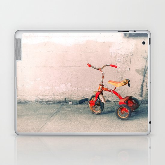 Childs Vintage Tricycle Laptop & iPad Skin