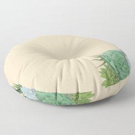 Beauty Lies in Sand Floor Pillow