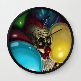 Chuckle's Last Stand Wall Clock