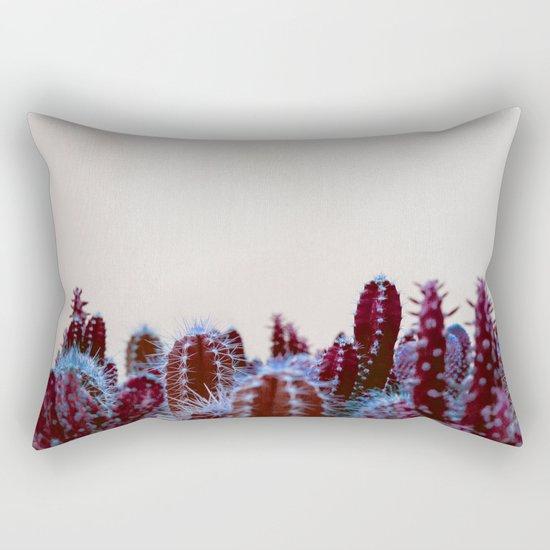 Abstract cactus Rectangular Pillow