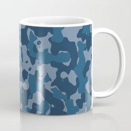 Camouflage Ocean Coffee Mug