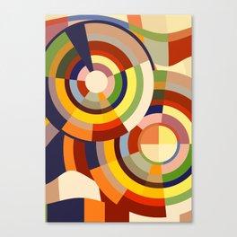Colour Revolution SEVEN Canvas Print