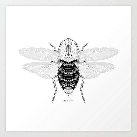 entomology 03. (i) Art Print