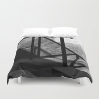 solid Duvet Covers featuring Solid shadows by LaCatrina.it