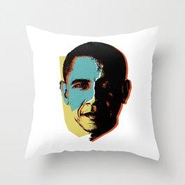 Obama 1 Throw Pillow