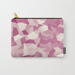 Geometric Shapes Fragments Pattern wr2 Carry-All Pouch