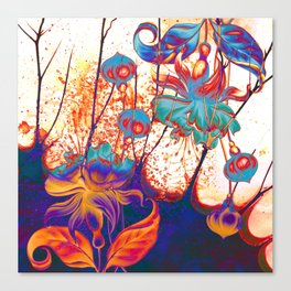 pop fuchsia Canvas Print