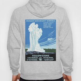 Vintage Yellowstone National Park Travel Hoody