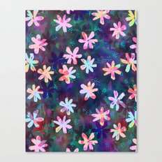Montauk Daisy - Night Canvas Print