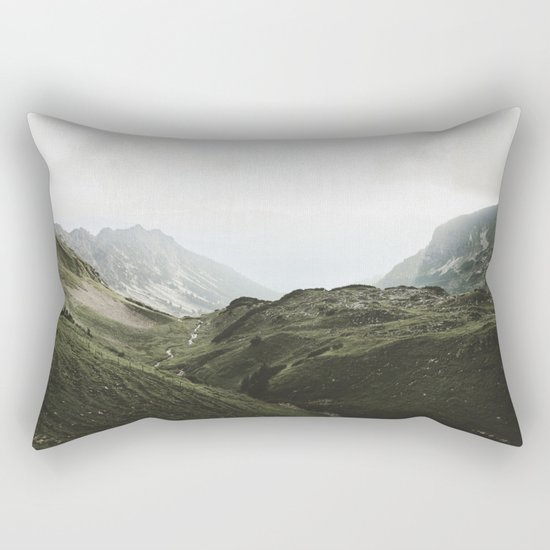Beam Landscape Photography Rectangular Pillow