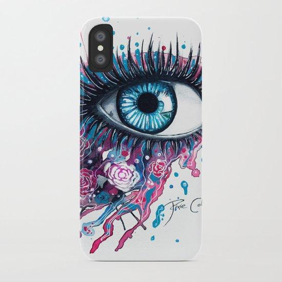 """Midnight Rose"" iPhone Case"