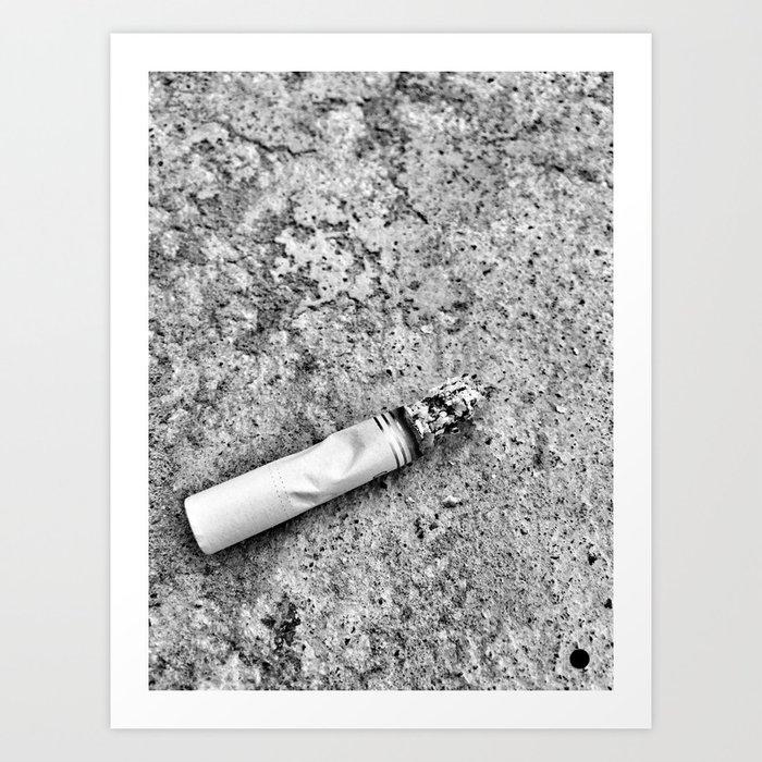 Cigarrete Art Print
