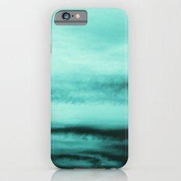 Mint-Green Ocean Vibes #1 #decor #art #society6 iPhone Case