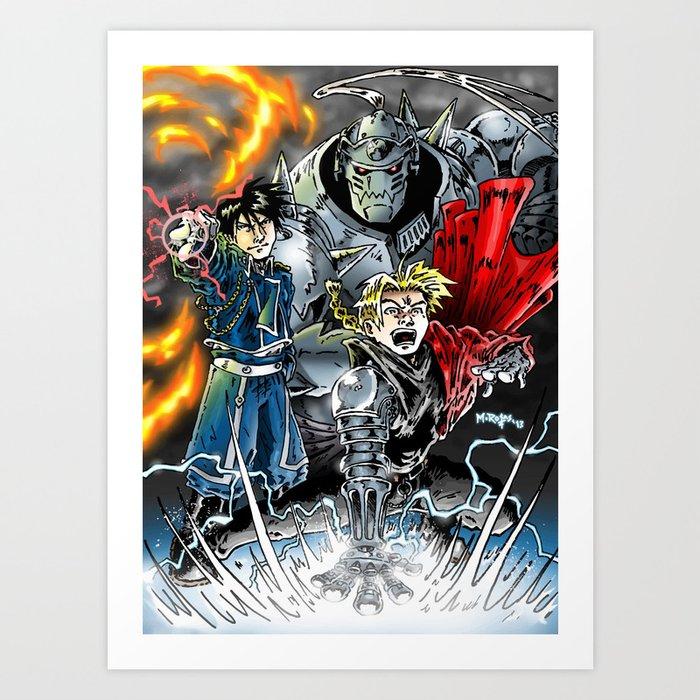 Fullmetal Alchemist Art Print