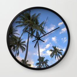 HAWAII PALMS Wall Clock