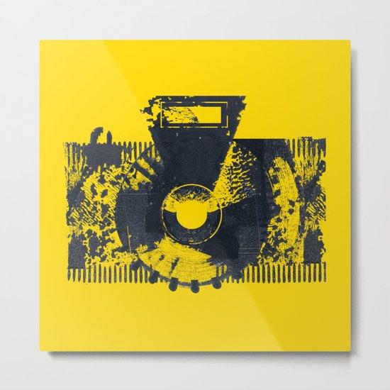 Camera Metal Print