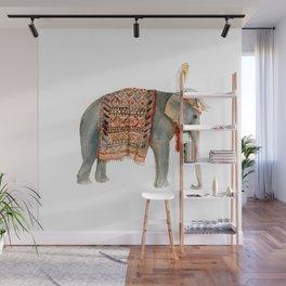 Riding Elephant Wall Mural