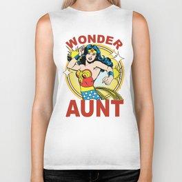 Wonder Aunt Biker Tank