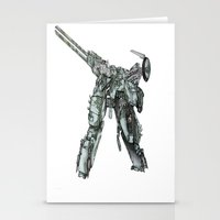 metal gear Stationery Cards featuring Metal Gear Solid LS  by Hisham Al Riyami