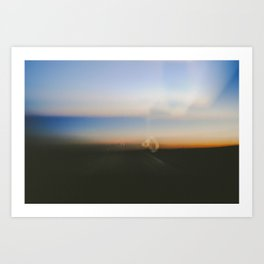 Long Drive Home Art Print